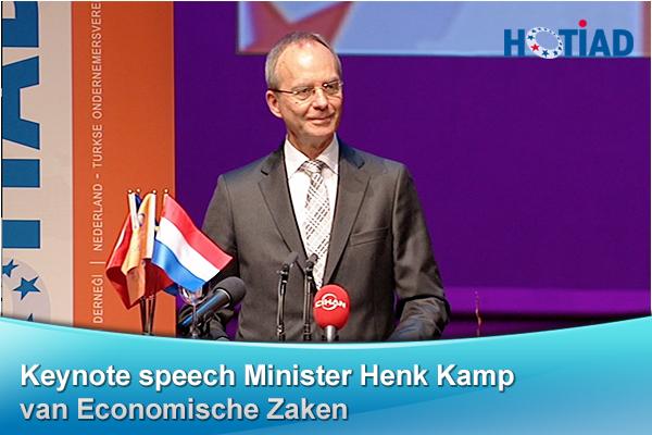 Keynote speech Minister Hemk Kamp van Economische Zaken
