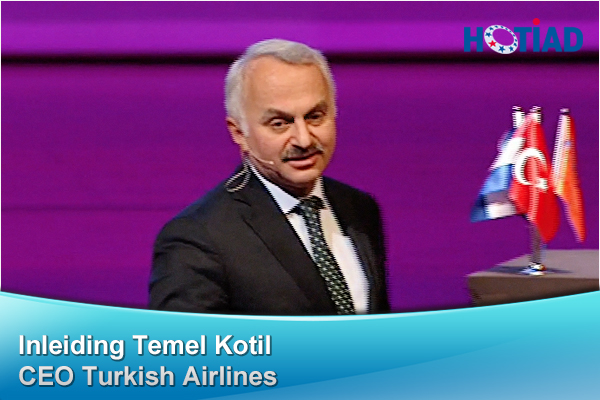 Inleiding Temel Kotil, CEO Turkish Airlines
