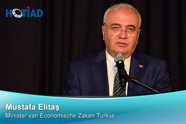 Mustafa Elitaş, Minister van Economische Zaken Turkije
