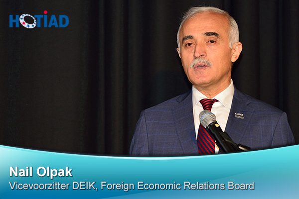 Nail Olpak, Vicevoorzitter DEIK, Foreign Economic Relations Board